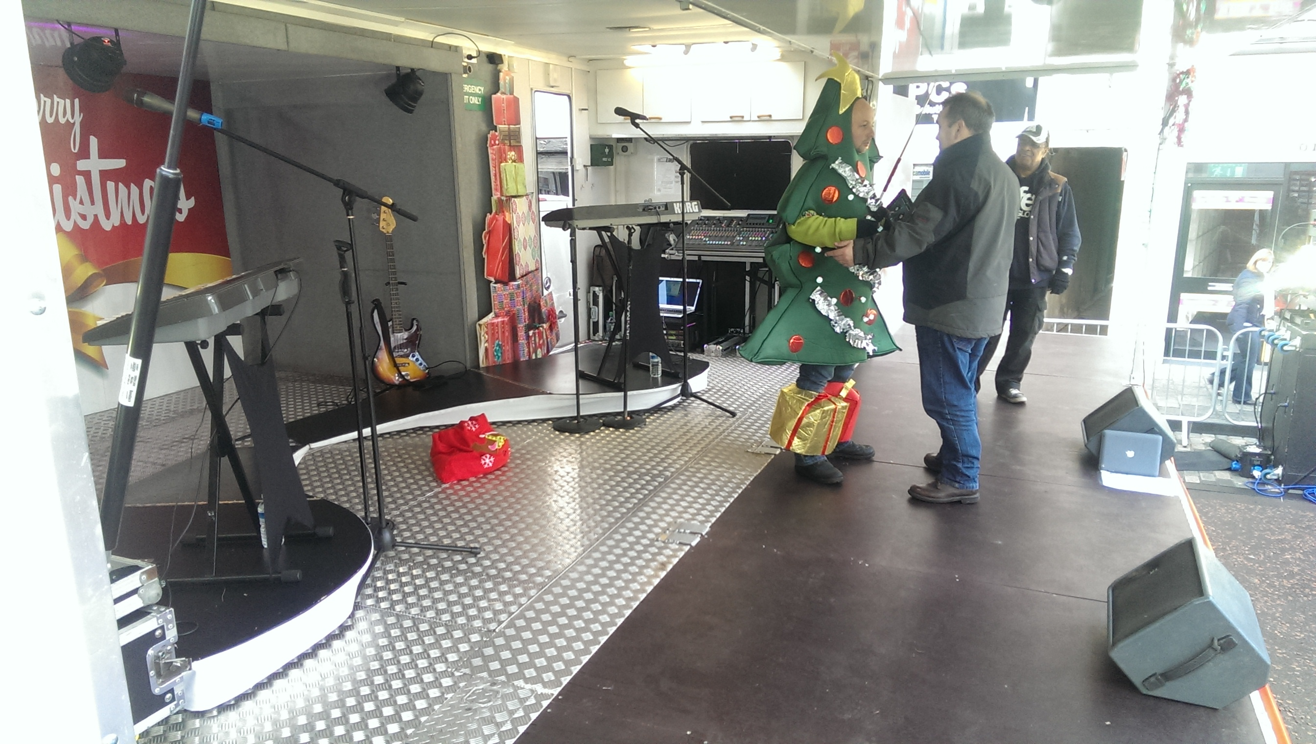 The Gig Rig Mobile Stage Hire