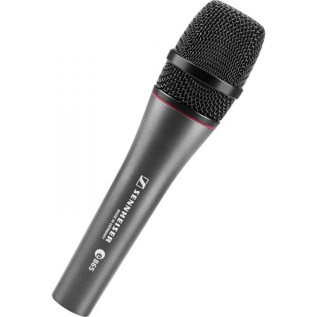 Sennhesier E865 microphone hire