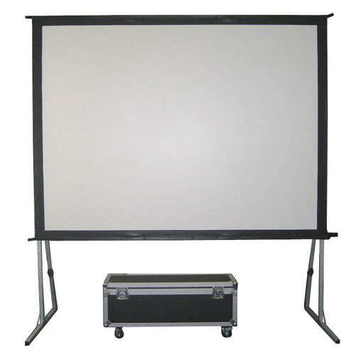 8x6 projector screen hire