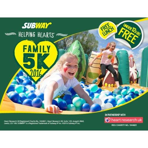 SUBWAY Helping Hearts Family 5K Series 2016