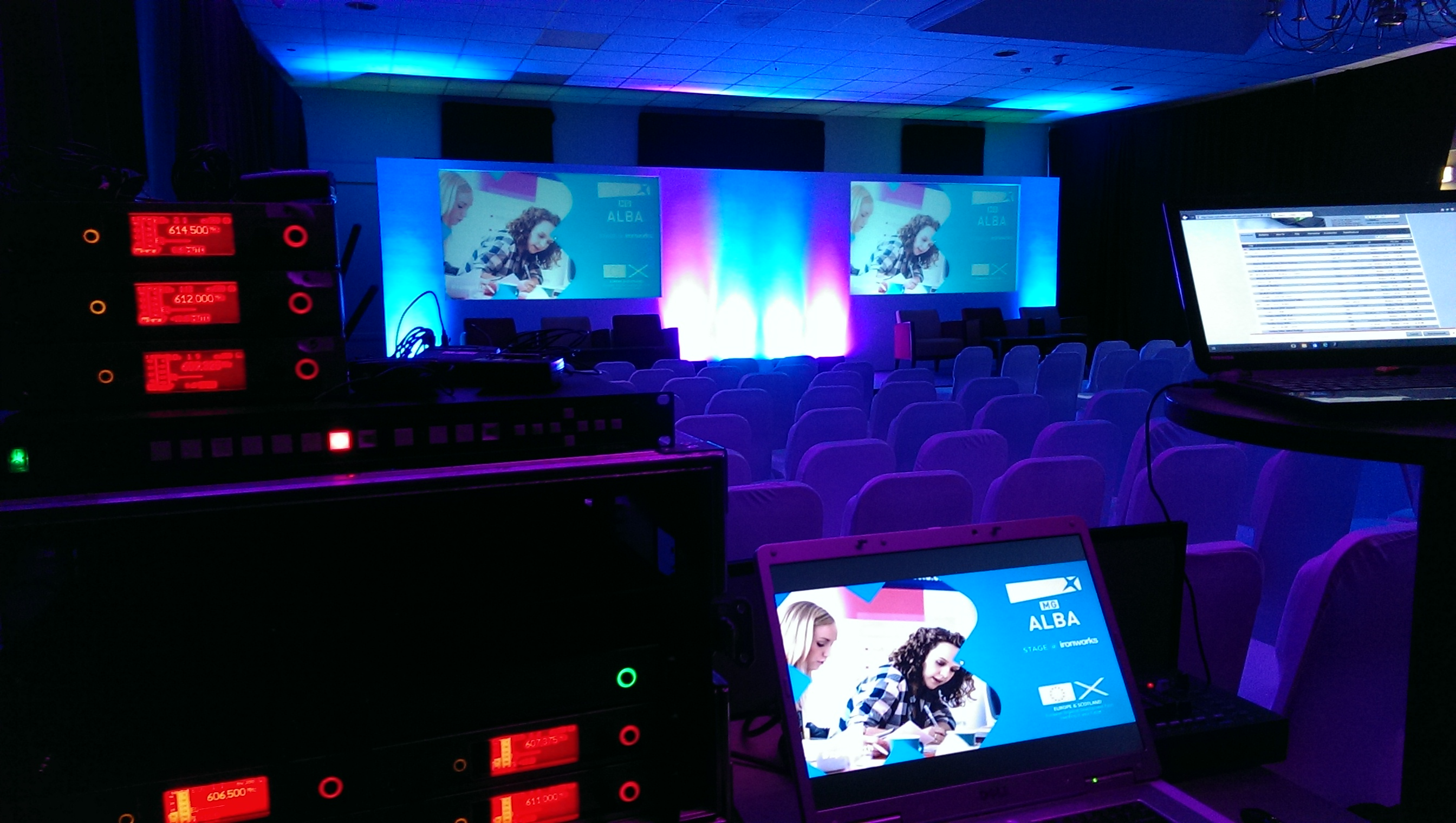 Conference Audio Visual Hire Scotland
