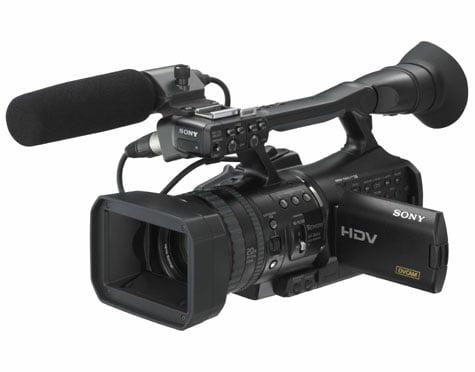HVR Z1E Camera Hire