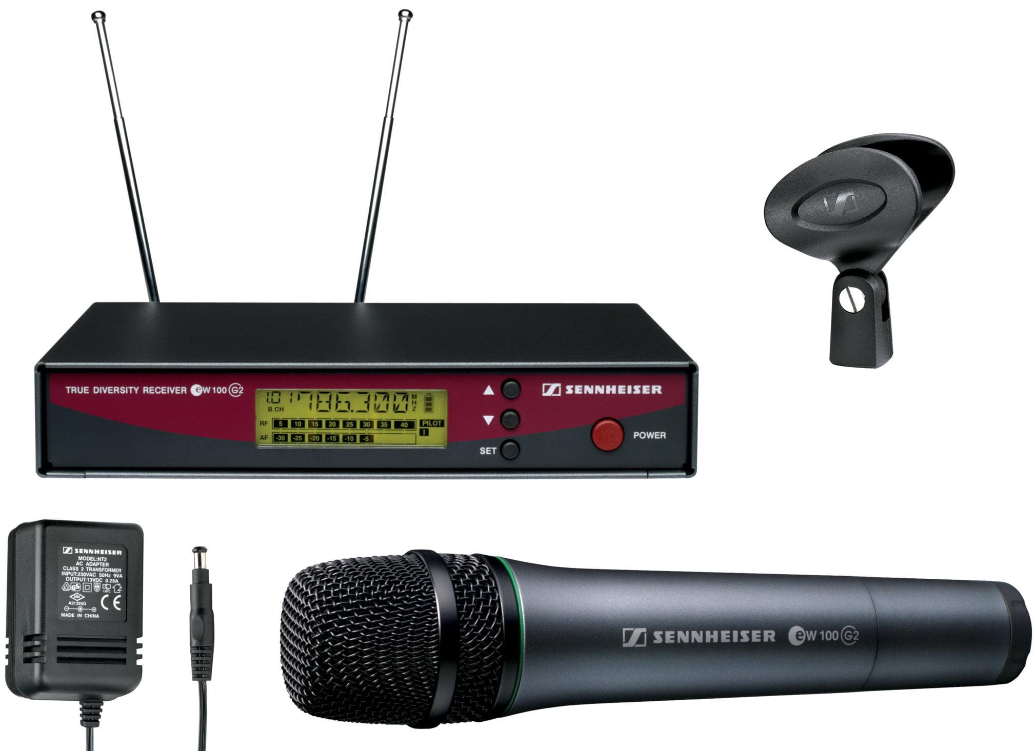 Sennheiser g2 microphone hire