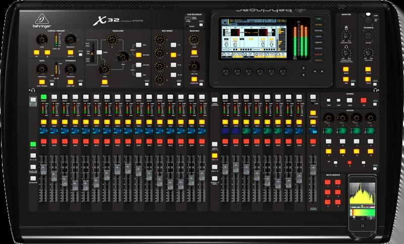 Behringer X32 Mixing Desk Hire