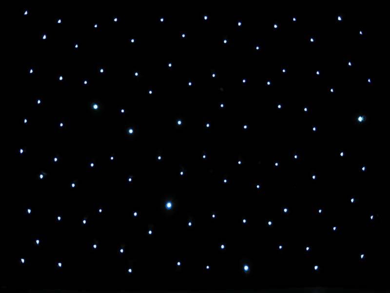 6m x 3m star cloth hire